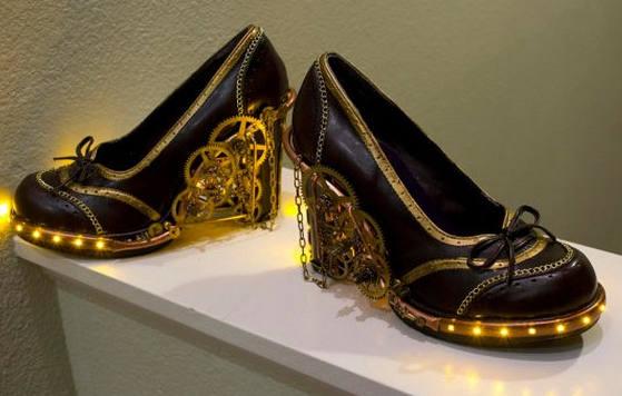 обувки в стил стиймпънк